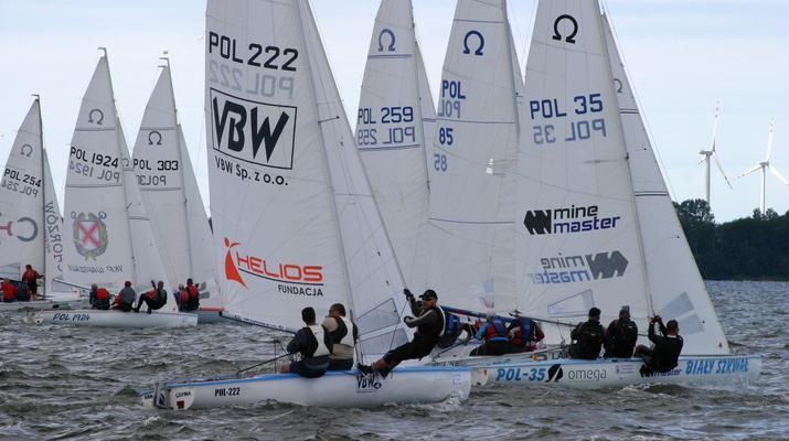 Na jeziorze Czos odbędzie się Puchar Polski Klasy Omega