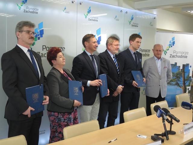 Porozumienie podpisane. Zachodniopomorski Szlak Żeglarski będzie dalej modernizowany!